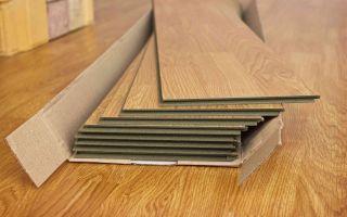 Как определить сколько квадратных метров в пачке ламината?