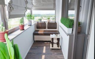 Особенности укладки ламината на балконе: отделка потолка, стен и пола