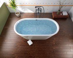 Ламинат для ванной комнаты: особенности выбора и укладки