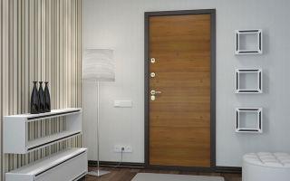 Обшивка входной двери ламинатом: как это правильно сделать