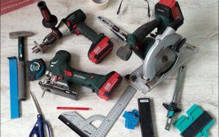 Необходимый инструмент для укладки ламината: бытовой и профессиональный