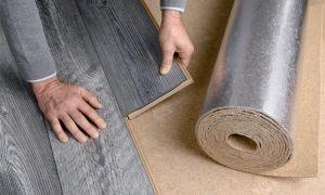 Как сделать шумоизоляцию пола под ламинат в квартире или доме