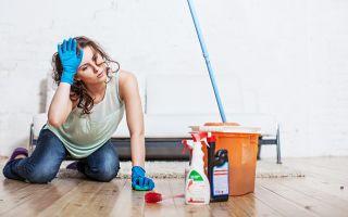 Отмываем ламинат после ремонта