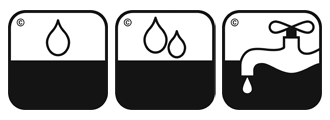 Значок повышенной влагостойкости ламината