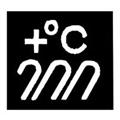Значок обозначения выдерживания высокой температуры
