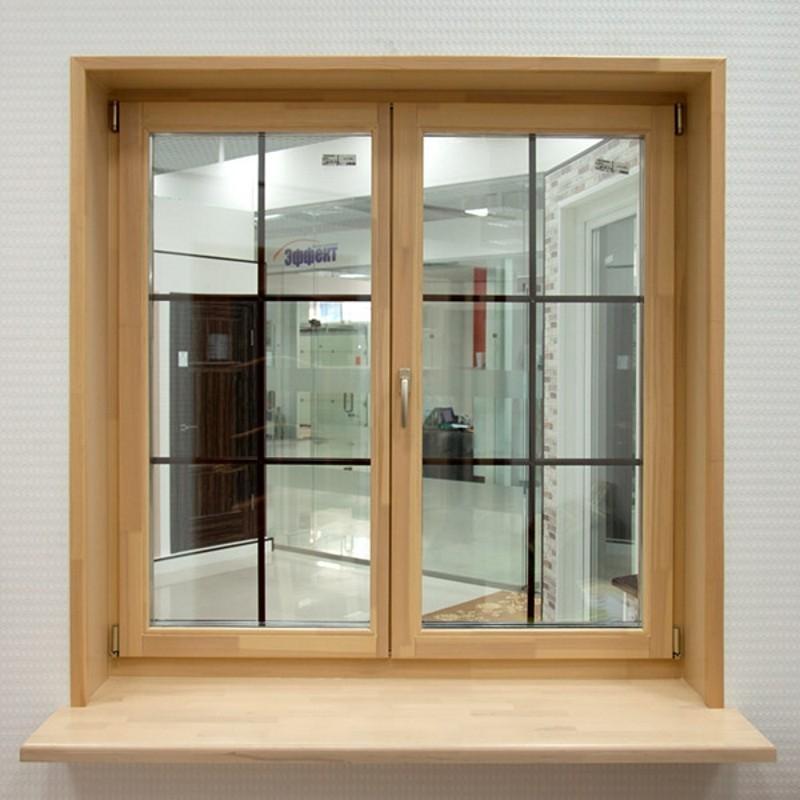Откос из ламината для деревянного окна
