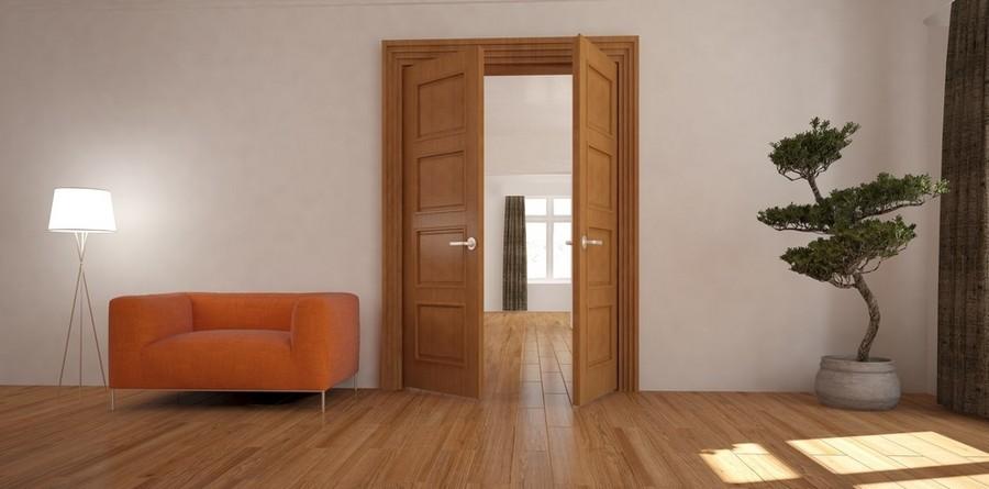 Как правильно подобрать двери под ламинат