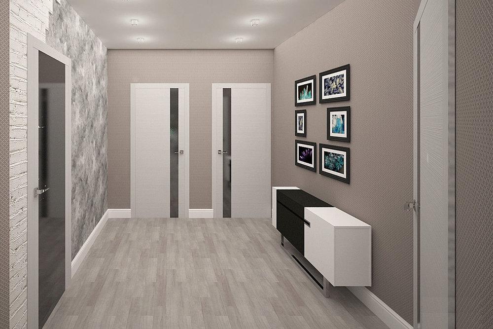 Подбор светлых дверей с темным стеклом под светлый ламинат