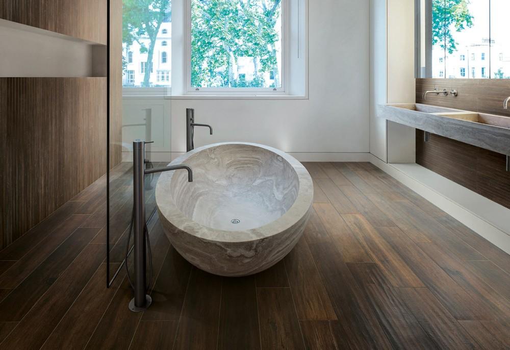 Какой ламинат лучше для ванной комнаты