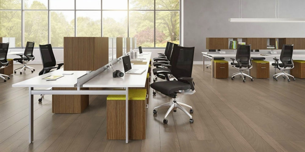 Выбор толщины ламината для офиса