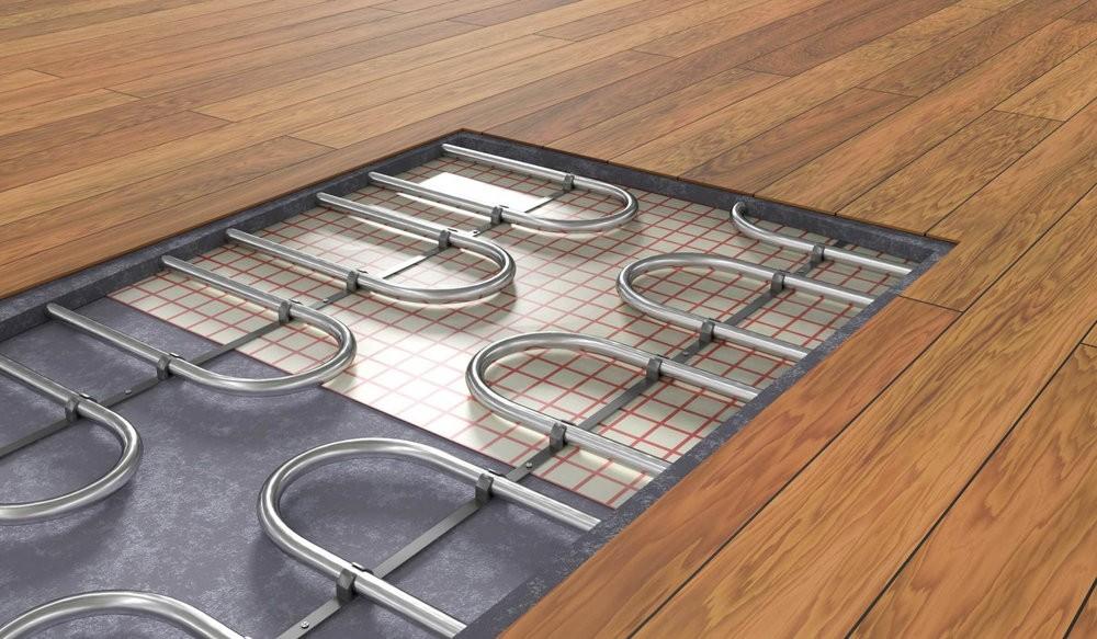 Укладка электрического теплого пола под ламинат