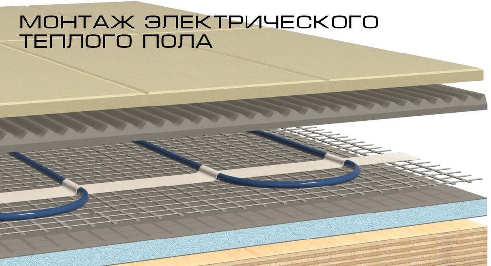 Инструкция по монтажу теплого пола под ламинат