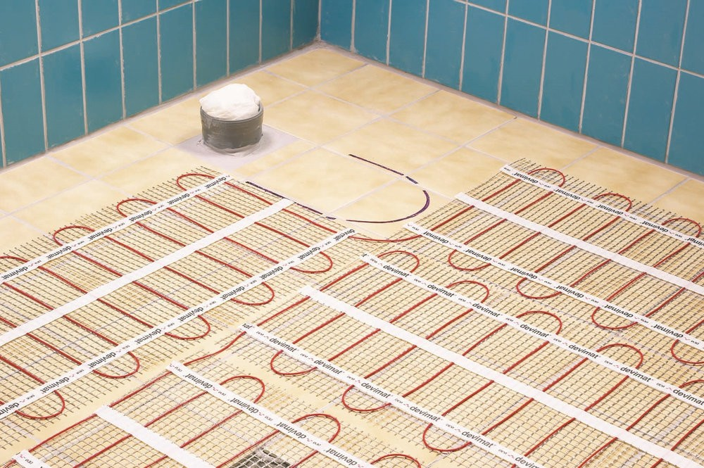 Тонкий кабельный теплый пол