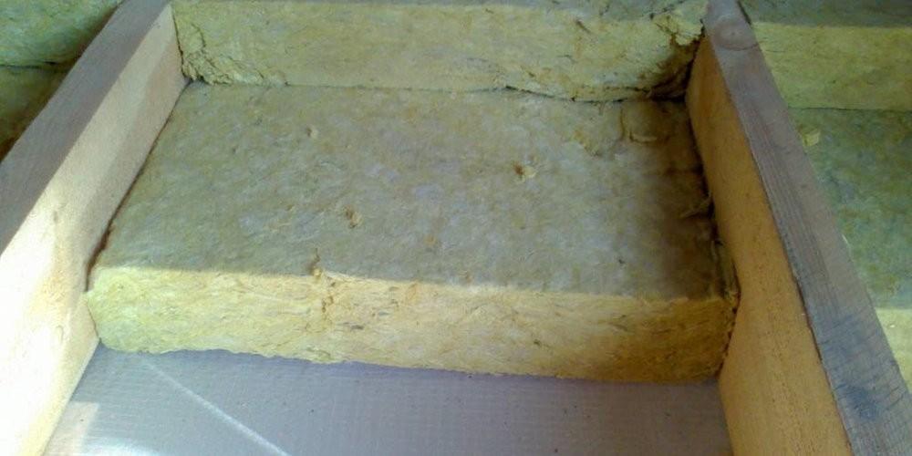 Тепло- звукоизоляция минеральной ватой