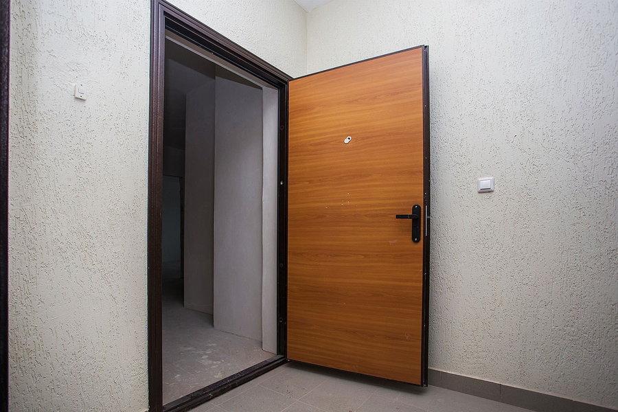 Входная дверь из ламината